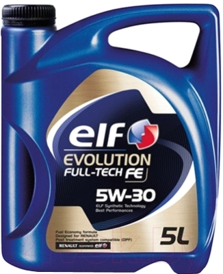 Моторное масло Elf Evolution Full-Tech FE 5W30 / 194908 (5л)