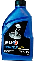 Трансмиссионное масло Elf Tranself NFP 75W80 / 195177 (500мл) -