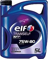 Трансмиссионное масло Elf Tranself NFP 75W80 / 195576 (5л) -