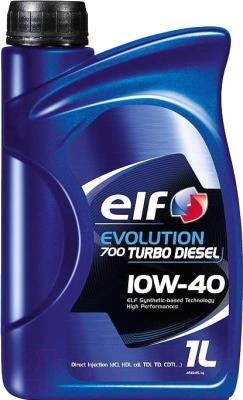 Моторное масло Elf Evolution 700 Turbo Diesel 10W40 / 201558 (1л)