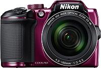 Компактный фотоаппарат Nikon Coolpix B500 (фиолетовый) -