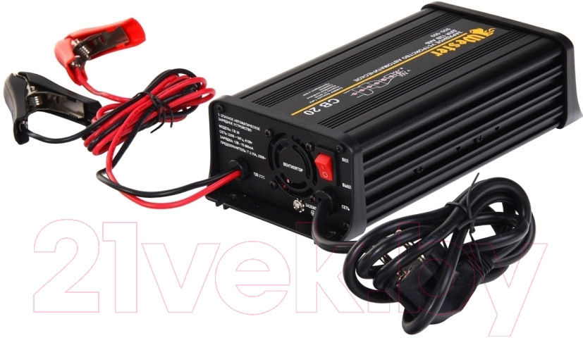 Купить Зарядное устройство для аккумулятора Wester, CB20, Китай