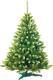 Ель искусственная GreenTerra Канадская с зелеными кончиками (1м) -