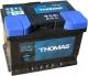 Автомобильный аккумулятор THOMAS Низкий R+ (53 А/ч) -
