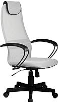 Кресло офисное Metta BP-8PL (светло-серый) -