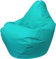 Бескаркасное кресло Flagman Груша Мини Г0.2-13 (морская волна) -