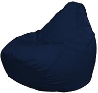 Бескаркасное кресло Flagman Груша Макси Г2.1-14 (темно-синий) -
