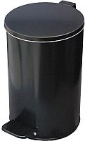 Мусорное ведро Титан Мета 10л (черный) -