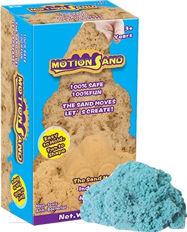Купить Кинетический песок Motion Sand, MS-800G (голубой), Китай