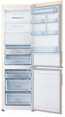 Холодильник с морозильником Samsung RB34K6220EF