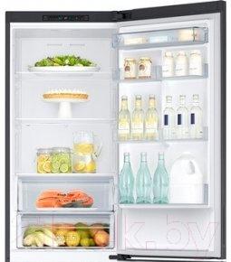 Холодильник с морозильником Samsung RB37J5000B1