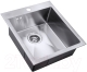 Мойка кухонная ZorG Steel Hammer SH R 4551 Antas -