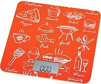 Кухонные весы BBK KS108G (оранжевый) -