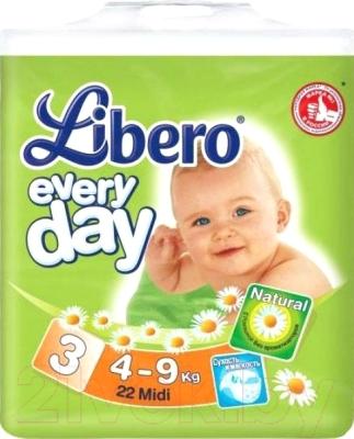 b04057681c54 Libero Everyday Midi 3 (22шт) Подгузники купить в Минске