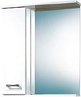 Шкаф с зеркалом для ванной Акваль Ника 60 / AN.04.60.00.L -