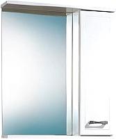 Шкаф с зеркалом для ванной Акваль Ника 60 / AN.04.60.00.R -
