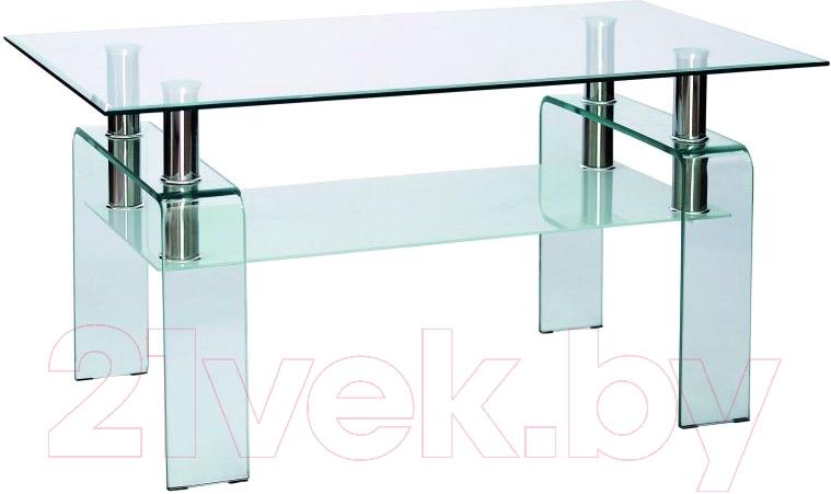 Купить Журнальный столик Signal, Stella (прозрачный), Польша