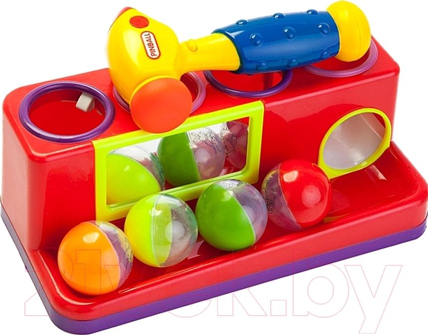 Купить Развивающая игрушка Bradex, Пим-Пам-Пум DE 0154 (красный), Китай, пластик
