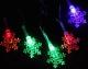Светодиодная гирлянда Luazon Метраж Снежинки малые 541525 (5м, мульти) -