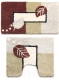 Набор ковриков Milardo 340PA68M13 -