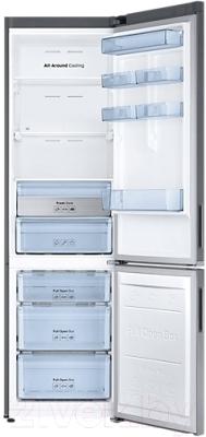 Холодильник с морозильником Samsung RB37K6220SS