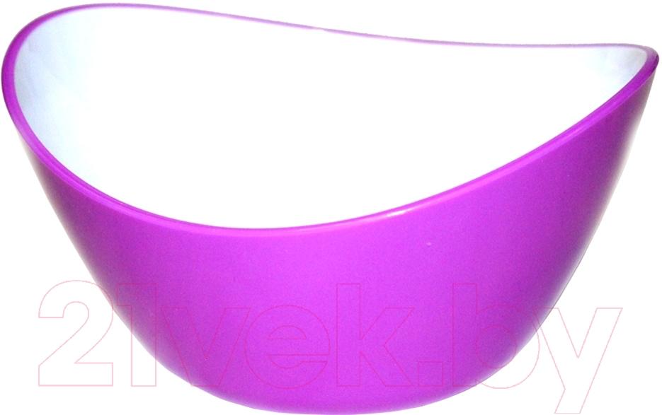 Купить Салатник Bradex, TK 0135 (фиолетовый), Китай, акрил