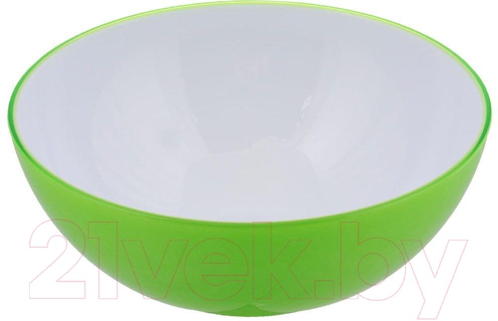 Салатник Bradex, TK 0137 (зеленый), Китай, акрил  - купить со скидкой