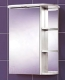 Шкаф с зеркалом для ванной Акваль Эмили 55 / AL.04.55.00.L -