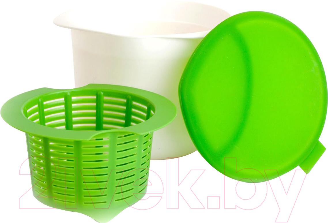 Купить Прибор для приготовления творога/сыра Bradex, Нежное лакомство TK 0192, Китай, зеленый, пластик