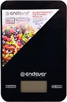 Кухонные весы Endever KS-527 (черный) -