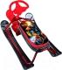 Снегокат детский Ника Кросс Робот / СНК (бордовый каркас) -