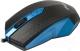 Мышь Ritmix ROM-202 (черный/синий) -