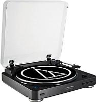Проигрыватель виниловых пластинок Audio-Technica AT-LP60BT BK -