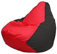 Бескаркасное кресло Flagman Груша Мини Г0.1-232 (красный/черный) -