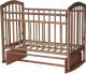 Детская кроватка Антел Алита-3 (бук) -