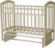 Детская кроватка Антел Алита-3 (Слоновая Кость) -