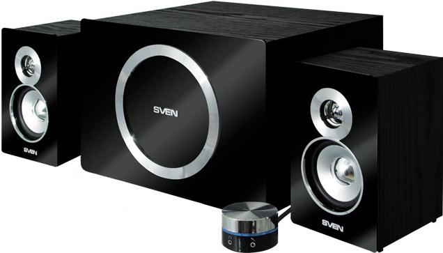 Купить Мультимедиа акустика Sven, MS-1085 (черный), Китай