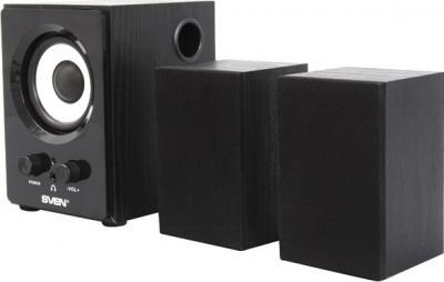 Мультимедиа акустика Sven MS-80 (черный) - общий вид