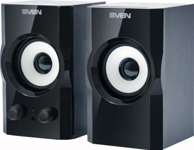 Мультимедиа акустика Sven SPS-605 (черный) - общий вид