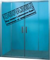 Стеклянная шторка для ванны Coliseum F-003-170 (тонированное стекло) -