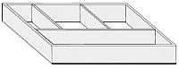 Органайзер выдвижных ящиков Riho RF94014033 -