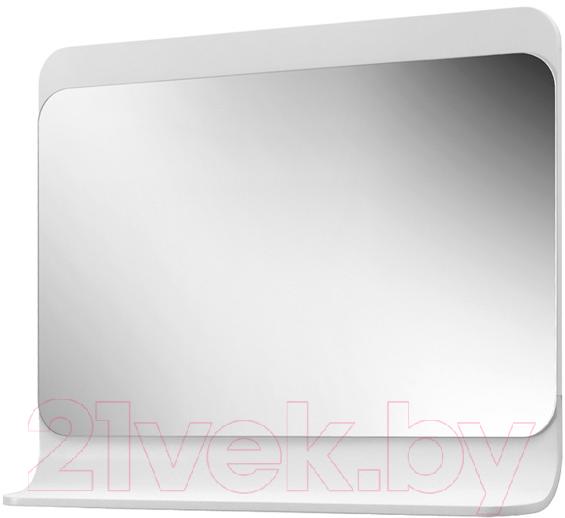 Купить Зеркало для ванной Belux, Итака В105 (белый), Беларусь