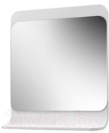 Купить Зеркало для ванной Belux, Итака В75 (белый), Беларусь