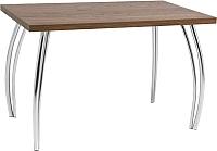 Обеденный стол Signal SK-2 120x68 (орех/хром) -