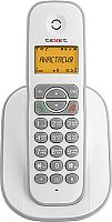 Беспроводной телефон Texet TX-D4505A (белый/серый) -