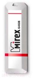 Купить Usb flash накопитель Mirex, Knight White 64GB / 13600-FMUKWH64, Китай