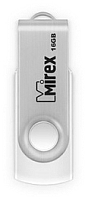 Usb flash накопитель Mirex Swivel White 16GB / 13600-FMUSWT16 -