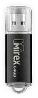 Usb flash накопитель Mirex Unit Black 64GB (13600-FMUUND64) -
