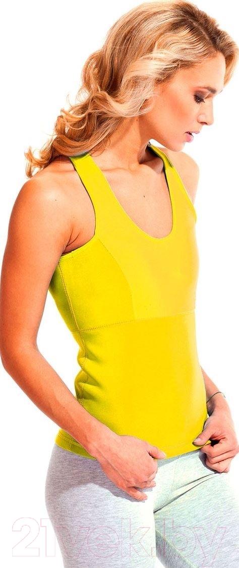 Купить Майка для похудения Bradex, Body Shaper SF 0130 (ХХL, желтый), Китай, полиэстер