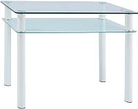 Обеденный стол Signal Sono 80x60 (белый) -